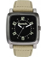 Buy Bench Mens Beige Leather Watch online