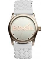 Buy Bench Ladies White Rose Gold Watch online