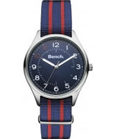 Buy Bench Mens Blue Red Watch online
