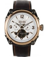 Buy Ingersoll Mens Montgomery White Brown Watch online