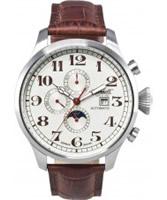 Buy Ingersoll Mens Buffalo III Cream Brown Watch online