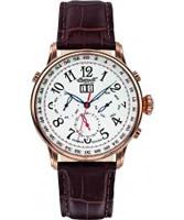 Buy Ingersoll Mens Gaan White Brown Watch online