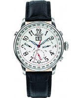 Buy Ingersoll Mens Gaan White Black Watch online