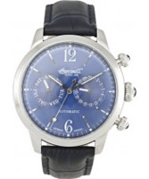 Buy Ingersoll Mens Outlaw Automatic Blue Watch online