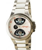 Buy Ed Hardy Mens Speeder White Steel Watch online