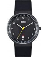Buy Braun Mens All Black Watch online