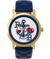 Buy Pauls Boutique Ladies Blue Anchor Watch online
