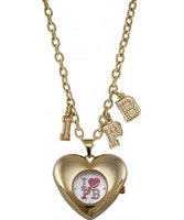 Buy Pauls Boutique Ladies Gold Necklace Watch online