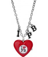 Buy Pauls Boutique Ladies Red Heart Necklace Watch online