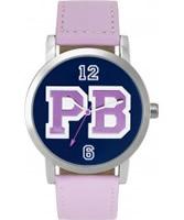 Buy Pauls Boutique Ladies Navy Pink Watch online