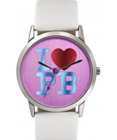 Buy Pauls Boutique Ladies Pink White Watch online