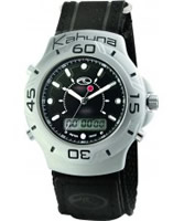 Buy Kahuna Mens Black Ana-Digi Watch online