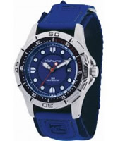 Buy Kahuna Mens Blue Rip Strap Watch online