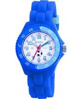 Buy Tikkers Kids Blue Rubber Watch online
