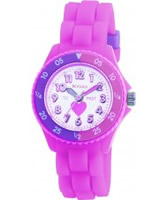 Buy Tikkers Kids Pink Rubber Watch online