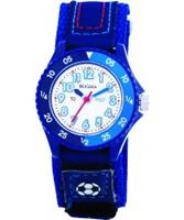 Buy Tikkers Kids Blue Velcro Watch online