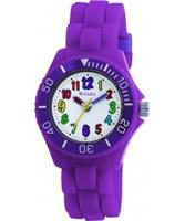 Buy Tikkers Kids Purple Rubber Watch online