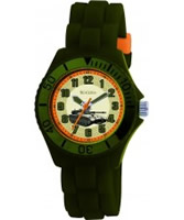 Buy Tikkers Kids Green Rubber Watch online