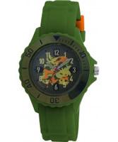 Buy Tikkers Kids Green Rubber Watch online