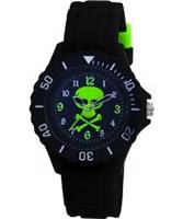 Buy Tikkers Kids Black Rubber Watch online