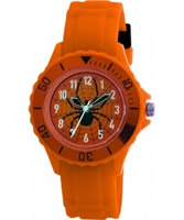 Buy Tikkers Kids Orange Rubber Watch online