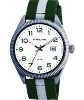 Buy Kahuna Mens Green White Watch online