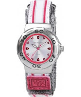 Buy Kahuna Ladies Silver and Pink Watch online