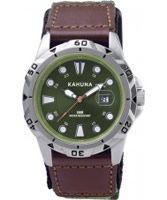 Buy Kahuna Mens Green Sports Watch online