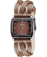 Buy Kahuna Ladies Brown Multi Thong Watch online