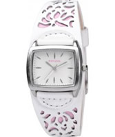 Buy Kahuna Ladies White and Pink Cuff Watch online