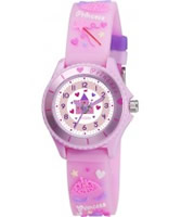 Buy Tikkers Girls Pink Fairy Princess Watch online