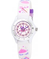 Buy Tikkers Girls White Fairy Princess Watch online