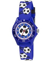 Buy Tikkers Boys Blue Football Watch online