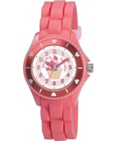Buy Tikkers Girls Fuscia Yummy Cupcake Watch online