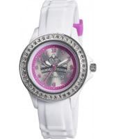 Buy Tikkers Girls White Stone Set Tiara Watch online