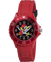 Buy Tikkers Boys Red Pirate Watch online