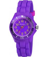 Buy Tikkers Girls Purple Watch online