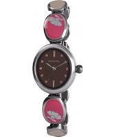 Buy Kahuna Ladies Silver Brown Watch online