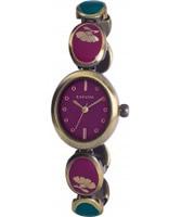 Buy Kahuna Ladies Purple Gold Watch online