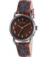 Buy Kahuna Ladies Brown Watch online