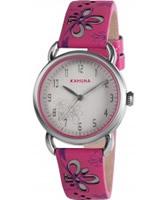 Buy Kahuna Ladies Pink Silver Watch online