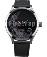 Buy Firetrap Ladies All Black Watch online