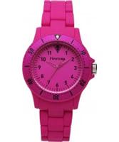 Buy Firetrap Pink Rubber Watch online