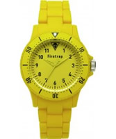 Buy Firetrap Yellow Rubber Watch online