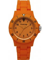 Buy Firetrap Orange Rubber Watch online
