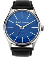 Buy Ben Sherman Mens Blue and Black Watch online