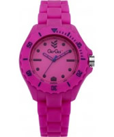 Buy Gio Goi Unisex Headfunk Pink Dial Pink Silicon Strap Watch online