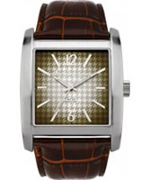 Buy Ben Sherman Mens Square Brown Watch online