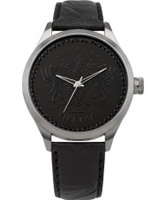Buy Firetrap Ladies Black Leather Watch online