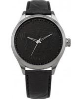 Buy Firetrap Ladies Black Leather Watch online